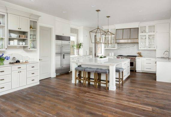 kitchen fitters - hardwood floors
